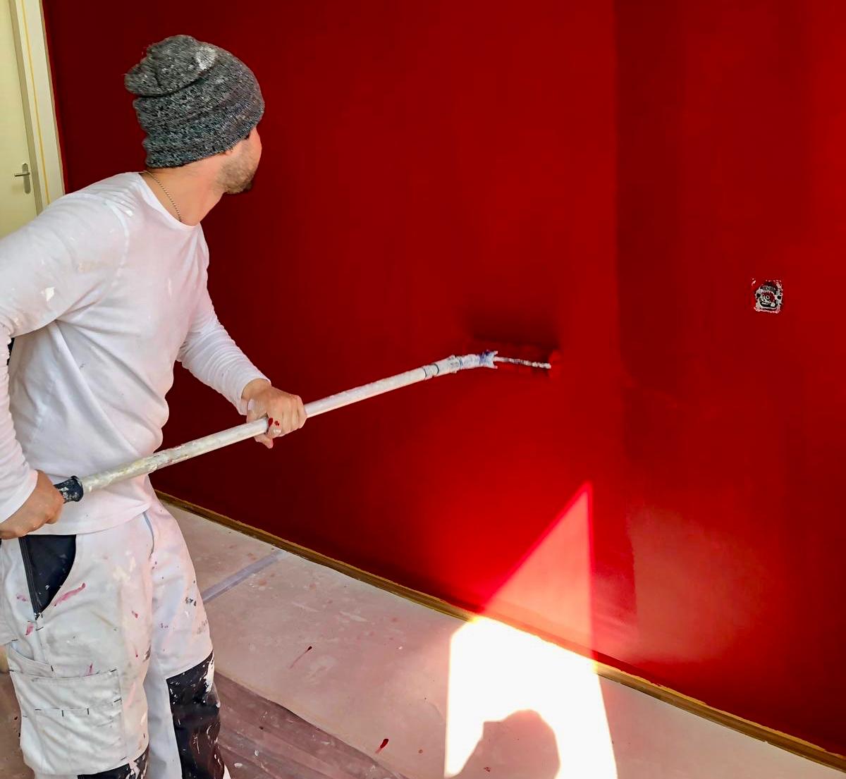 Toni Schildersbedrijf muur schilderen
